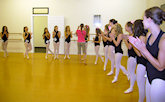 Centre Stage Studios - class in session!